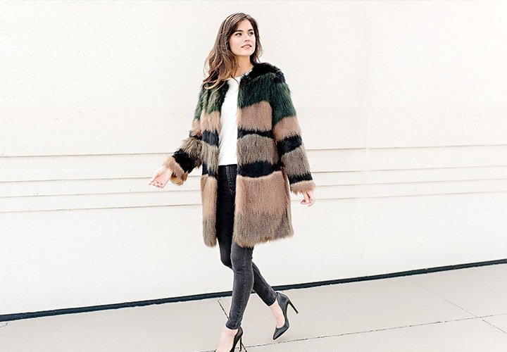 Donna Salyers' Fabulous Faux Furs at Evine