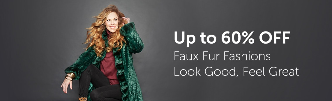 Up to 60% OFF Faux Fur Fashions Look Good, Feel Great at ShopHQ