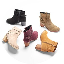 Shoes - 737-925 Matisse Camryn Suede Leather Buckle & Stud Detailed Ankle Boots