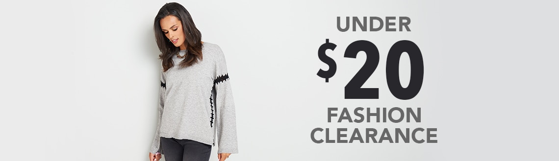 UNDER $20 FASHION CLEARANCE at Evine - 737-883 OSO Casuals® Knit Long Sleeve Boat Neck Whipstitch Detailed Sweater