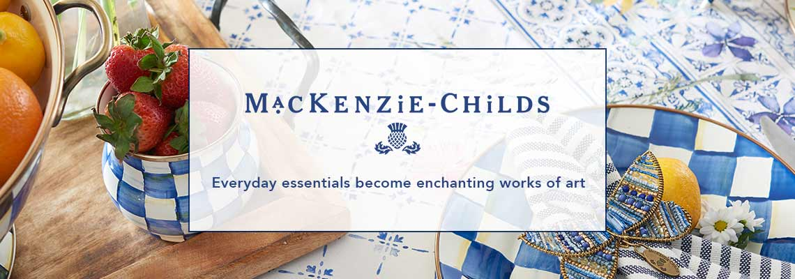MACKENZIE-CHILDS  Free Shipping on (virtually) everything + NEW furniture, décor & accessories