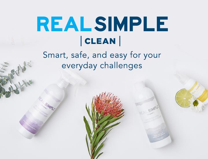 Real Simple Clean - Smart, safe, and easy for your everyday challenges