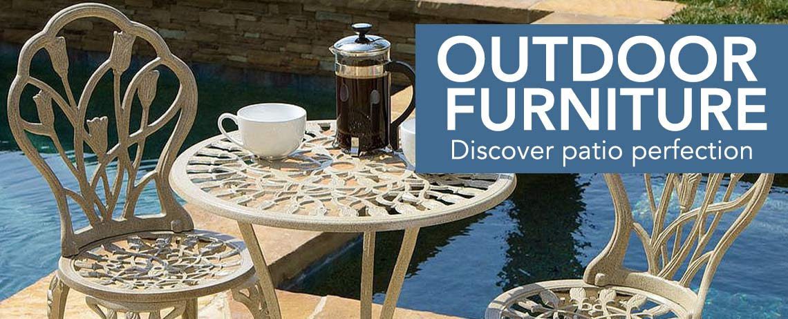OUTDOOR FURNITURE  Discover patio perfection - 438-721 Christopher Knight Home Nassau Sand Bistro Set