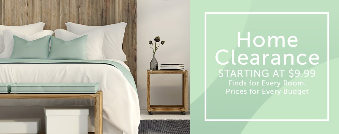 Home Clearance - STARTING AT $9.99 Finds for Every Room, Prices for Every Budget at ShopHQ