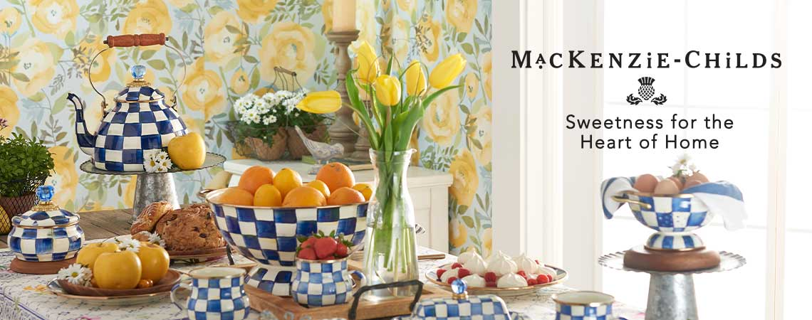 MACKENZIE-CHILDS Sweetness for the Heart of Home at ShopHQ