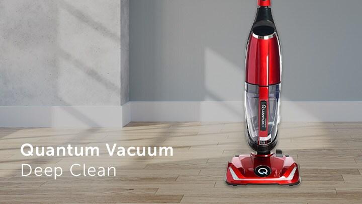 Quantum Vacuum Deep Clean at ShopHQ - 486-222 Quantum X Upright Vacuum w Attachments & Deluxe Kit