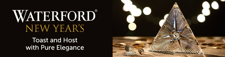 Waterford New Year's Toast and Host with Pure Elegance at ShopHQ
