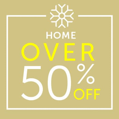 Over 50% OFF Home