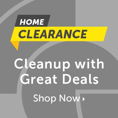 Home Clearance Cleanup with Great Deals at ShopHQ