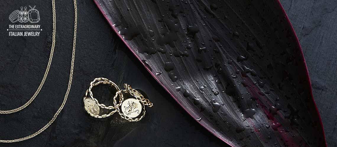 Stefano Oro - 183-918 Stefano Oro 14K Gold Choice of Motif Openwork Ring, 2.85 grams