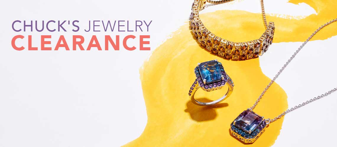 CHUCK'S JEWELRY CLEARANCE  at Evine