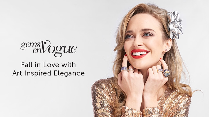 Gems en Vogue Fall in Love with Art Inspired Elegance at ShopHQ - 186074, 186075, 187661, 186073, 186878
