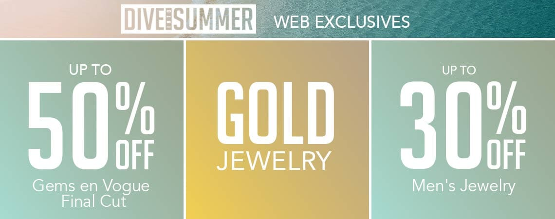 DIVE INTO SUMMER WEB EXCLUSIVES
