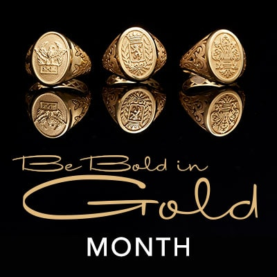 BE BOLD IN GOLD MONTH at Evine