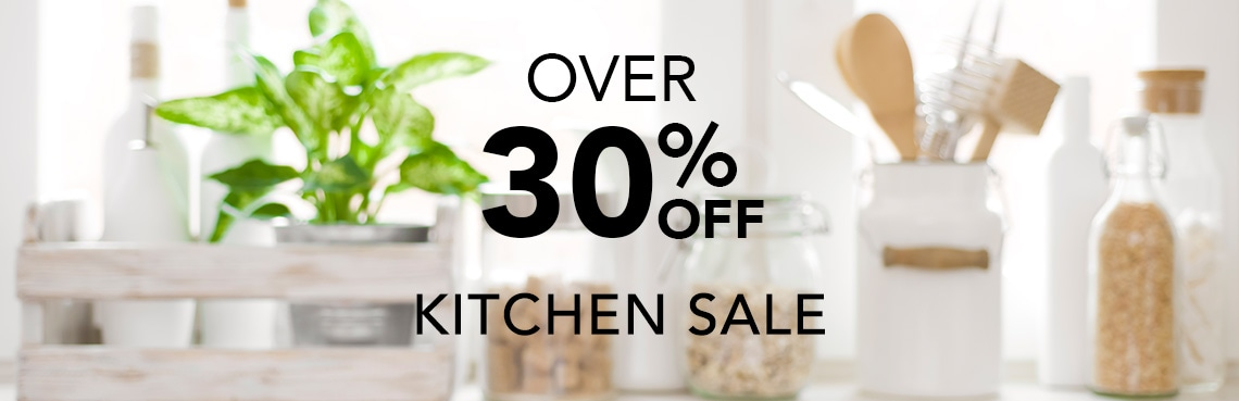 OVER 30% OFF KITCHEN SALE at Evine