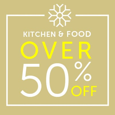 Over 50% OFF Kitchen & Food
