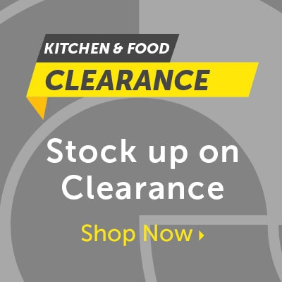 Kitchen & Food Stock up on Clearance
