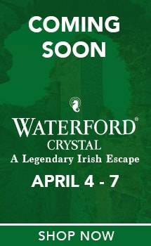 Waterford Crystal Live from Ireland : A Legendary Irish Escape   Coming Soon at Evine