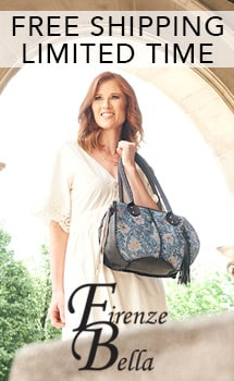 LIMITED TIME FREE SHIPPING FIRENZE BELLA at Evine
