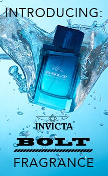 INTRODUCING: INVICTA BOLT FRAGRANCE at Evine