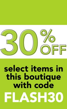 30% OFF select items in this boutique with code FLASH30 at Evine