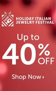 Holiday Italian Jewelry Festival  Up to 40% OFF at ShopHQ