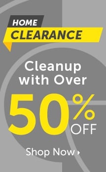 Home Clearance Cleanup with Over 50% OFF at ShopHQ