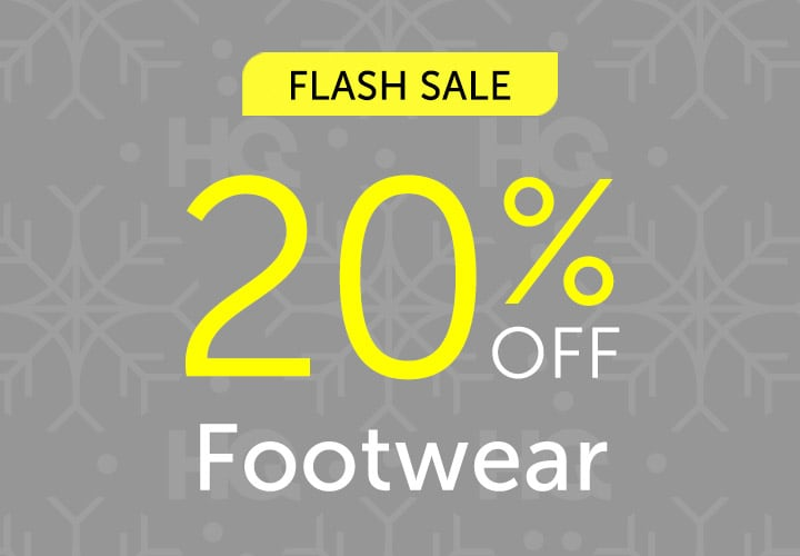 FLASH SALE 20% OFF Footwear at ShopHQ