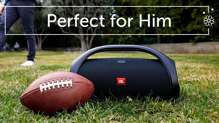 Perfect for Him - 484-067 JBL Portable IPX7 Waterproof Rated Bluetooth Boombox