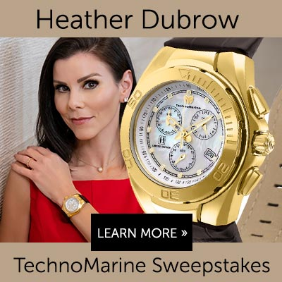 Heather Dubrow TechnoMarine Sweepstakes