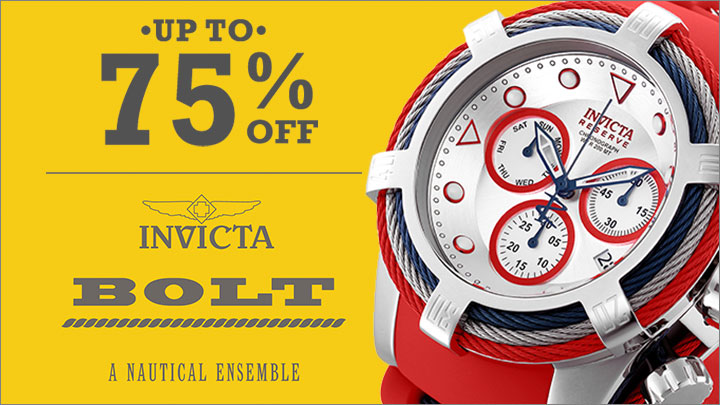 UP TO 75% OFF INVICTA BOLT - 657-485