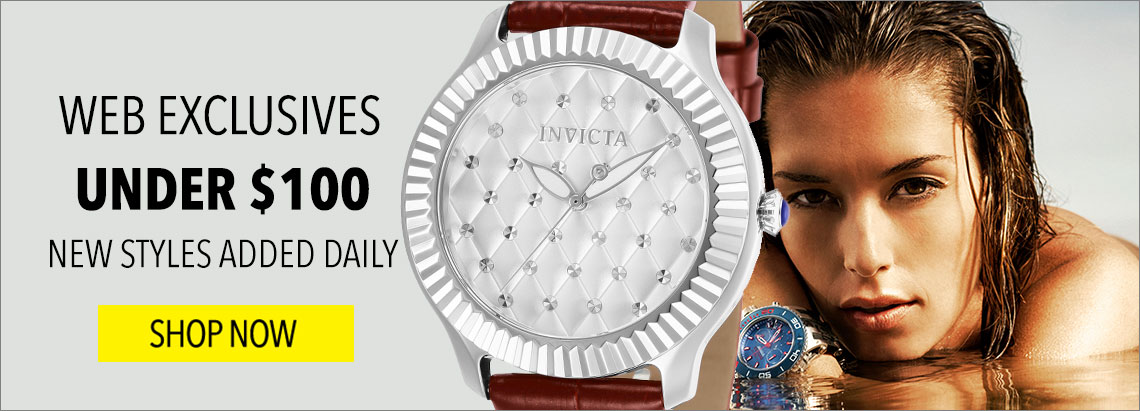 UNDER $100 WEB EXCLUSIVES  NEW STYLES ADDED DAILY - 663-067
