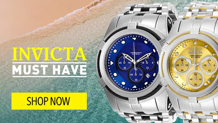 INVICTA MUST-HAVES  - 670-012 & 670-013