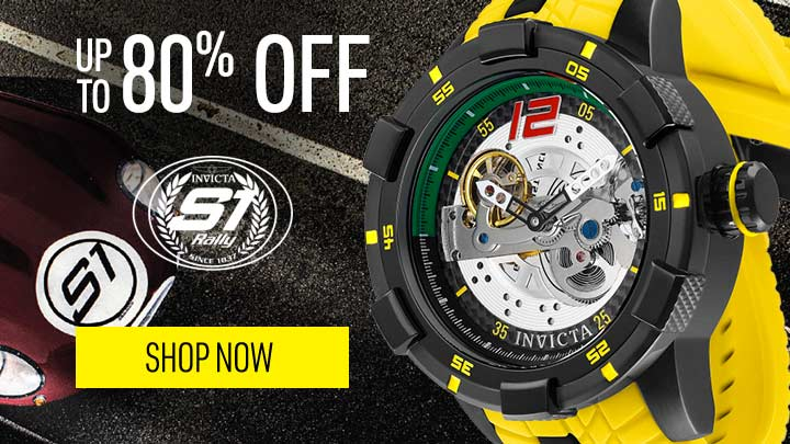 UP TO 80% OFF INVICTA S1 RALLY - 670-079