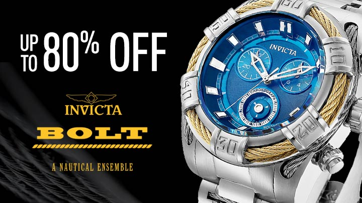 Invicta Bolt - up to 75% off - 659-002