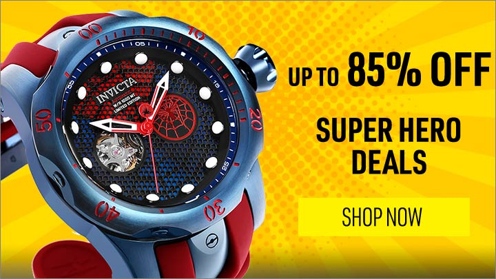 UP TO 85% OFF SUPER HERO DEALS - 651-341