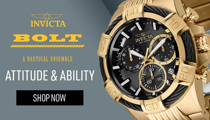 INVICTA BOLT ATTITUDE & ABILITY - 650-189