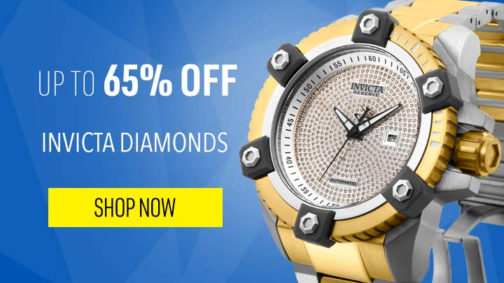 UP TO 65% OFF INVICTA DIAMONDS GAZE-GRABBING SPARKLE  - 649-452