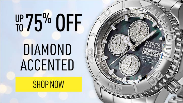 DIAMOND ACCENTED UP TO 75% OFF - 661-467