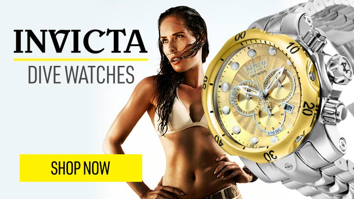 INVICTA DIVE WATCHES No Fear in Taking the Plunge Starting at $66.99 - 671-047