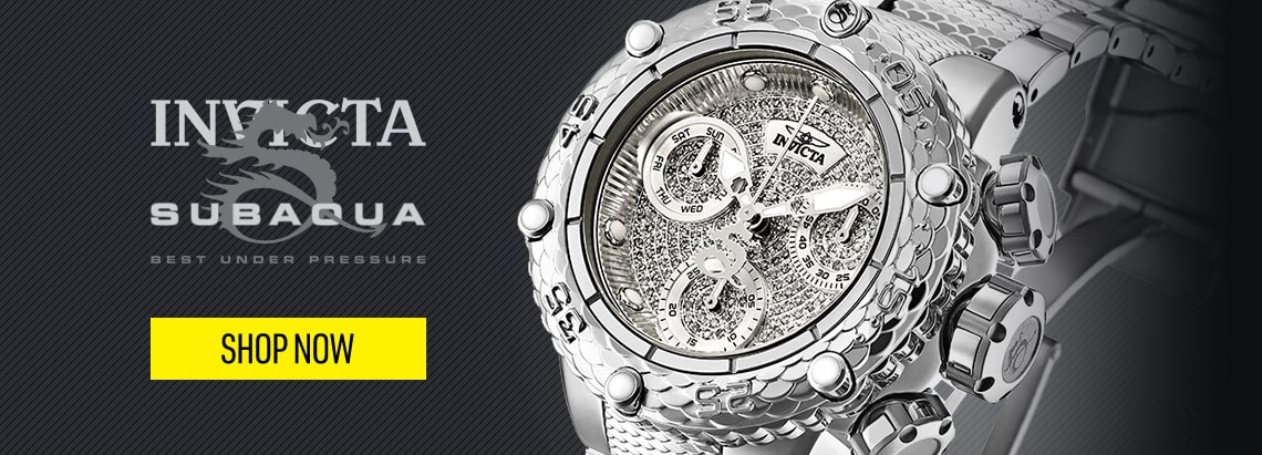 Invicta Subaqua Noma  Performance Under Pressure - 667-436 Invicta 42mm Subaqua Noma VI Swiss Quartz Chrono Dive 0.83ctw Diamond Watch