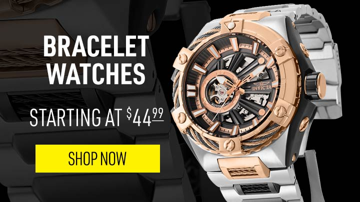 Bracelet Watches Starting at $49.99 - 665-687