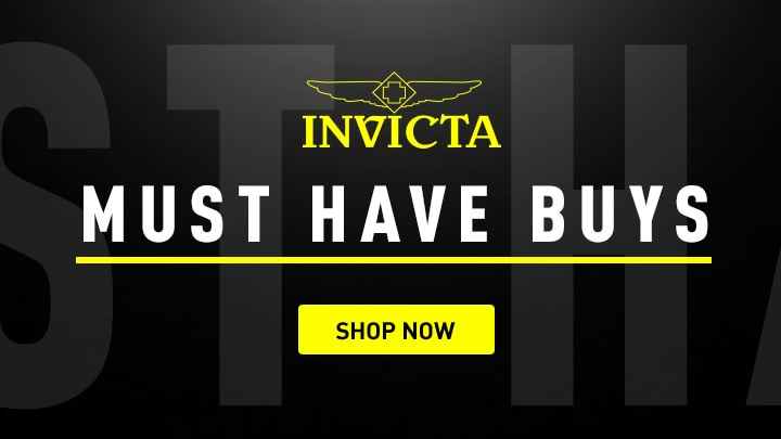 Invicta Must Have Buys at ShopHQ