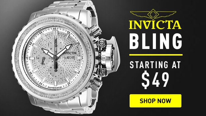 646-794 Invicta Men's 58mm Sea Hunter Automatic 2.14ctw Diamond Stainless Steel Bracelet Watch