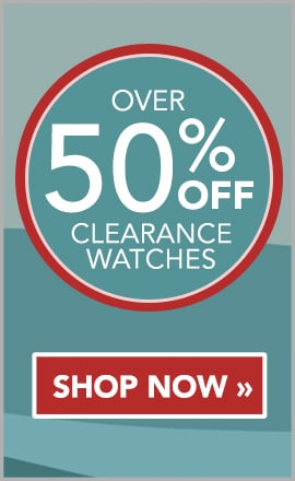 OVER 50% OFF CLEARANCE WATCHES