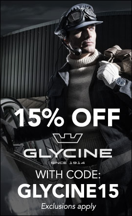 15% OFF GLYCINE - Use code GLYCINE15