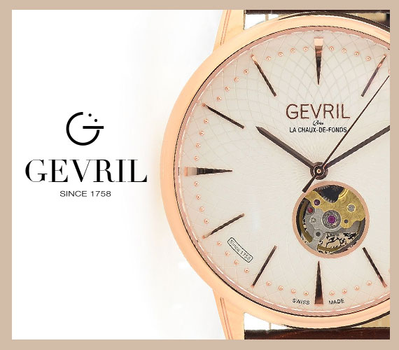 Superior Swiss craftsmanship and masterfully built timepieces have been the Gevril heritage for more than 250 years. Today, the same meticulous care is put into each limited production Gevril and next-generation GV2 product. Experience for yourself the surprising complexity and impeccable quality of Gevril and GV2 by Gevril.