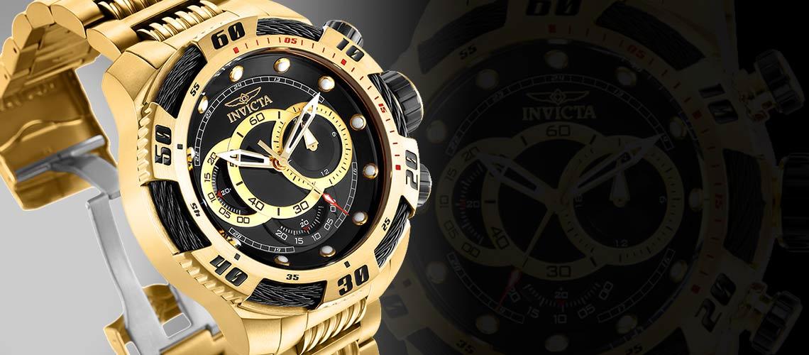 INVICTA ANNIVERSARY - 648-317 Invicta Men's 50mm Speedway Viper Gen III Quartz Chronograph Stainless Steel Bracelet Watch