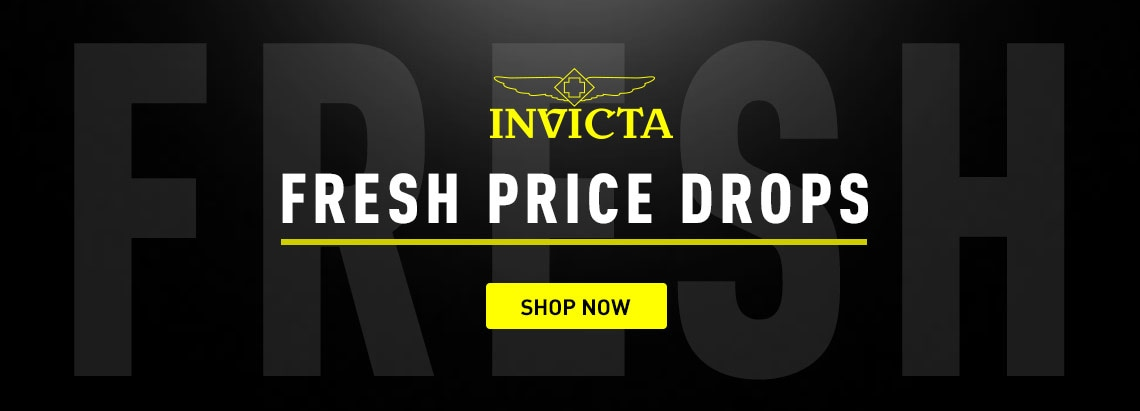 INVICTA Fresh Price Drops at ShopHQ