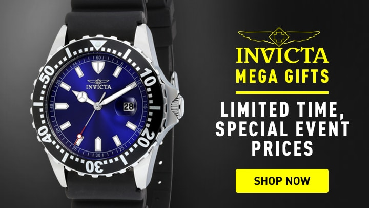 Invicta Limited time, special prices at ShopHQ